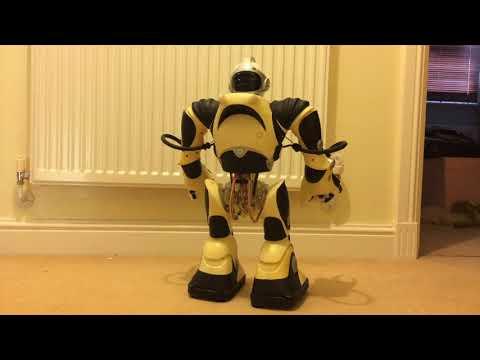 Fixing Wowwee Robotics RSV2 Robosapien V2 Part 10