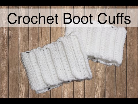 The Easiest Crochet Boot Cuffs Ever | Sewrella