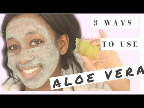 DIY| 3 Ways to use ALOE VERA GEL For ACNE