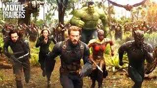 All NEW footage in Avengers: Infinity War International Trailer