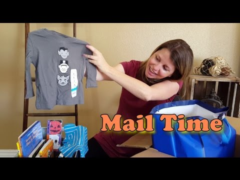 Great Halloween Book Score - Hollywood Haunter Mail Vlog #3