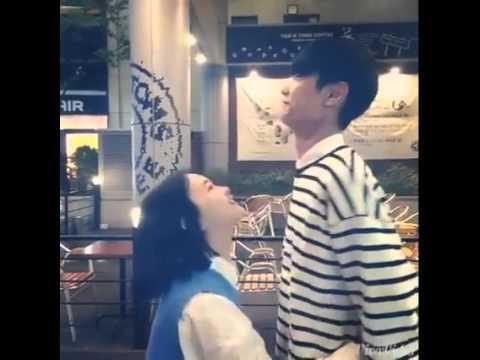 korea Short Girlfriend and tall Boyfriend