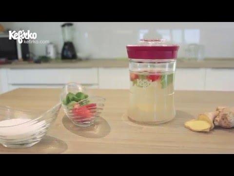 HOW TO MAKE WATER KEFIR WITH KEFIRKO