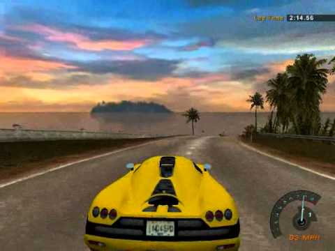 Need For Speed Hot Pursuit 2 Koenigsegg CCX Manual Test Run