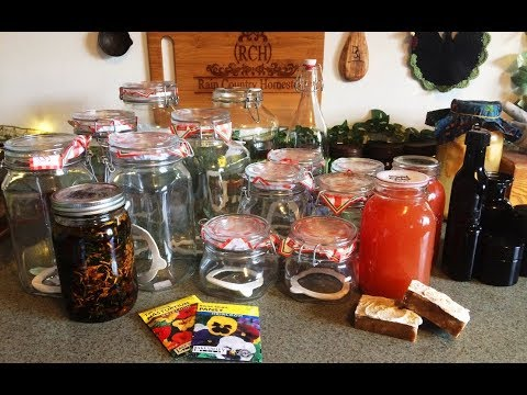 Fido Jars, Infused Oil, and Other This N That