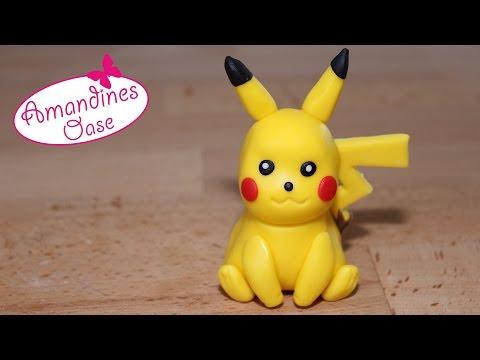 Pikachu modellieren aus Fondant | pokemon go cake topper tutorial | Anleitung auf deutsch