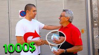 DANDO GORJETAS DE 1000€ (5000R$) | Numeiro