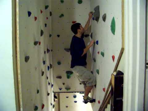 DIY Rock Wall