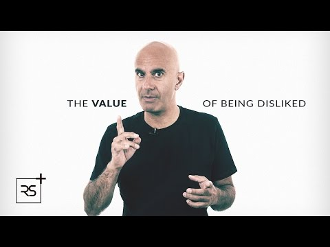 The Value of Being Disliked   Robin Sharma