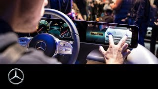 Mercedes-Benz User Experience: Revolution in the Cockpit | CES 2018