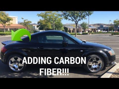 Audi TT Carbon Fiber Spoiler Install!!!!