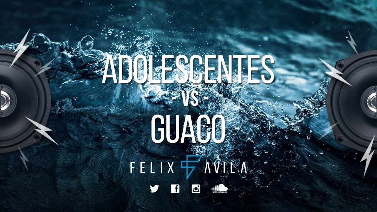 MIX SALSA - ADOLESCENTES VS GUACO - SUPER BAILABLE - DJFELIXAVILA