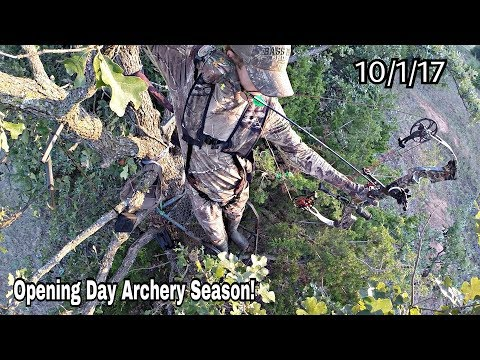 Bow Hunting Opening Day Of Oklahoma Bow Season 2017 S1 EP1 |Deer Hunting|