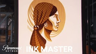 Flash Challenge Preview: Sticky Situation - Ink Master, Season 8