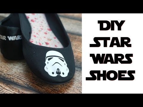 DIY Star Wars Shoes | Nerdy Crafts Ep. 40