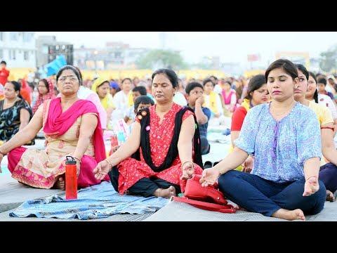 महिलाओं एवं बच्चों के लिए योगसत्र | जौनपुर, उत्तर प्रदेश | 21 May 2018 (Part 2)