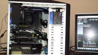 Intel 4770K Overview MSI Z87 MPOWER Kingston HyperX Beast Swiftech H220 GTX460SLI Kingston HyperX-3K