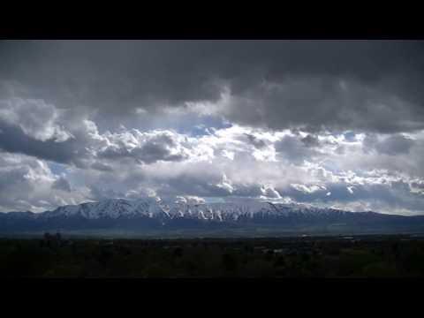 Cache Valley Clouds 4/21/2017 - 20x speed