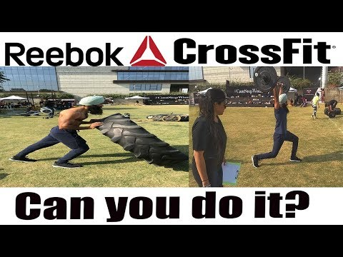 MOST DIFFICULT  WORKOUT I EVER DID||Crossfit Workout|Reebok crossfit