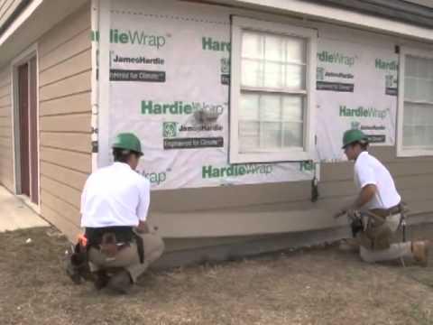 HardiePlank Lap Siding Install Video