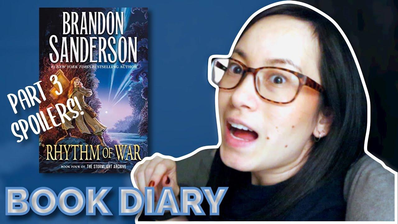 Rhythm of War Part 3 Reading Vlog Book Diary