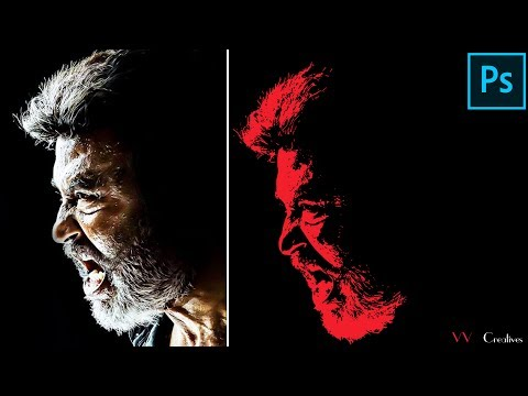 Kaala Poster Editing in Photoshop CS3 || Bigginer Tutorial in Photoshop CS3 (2k18)