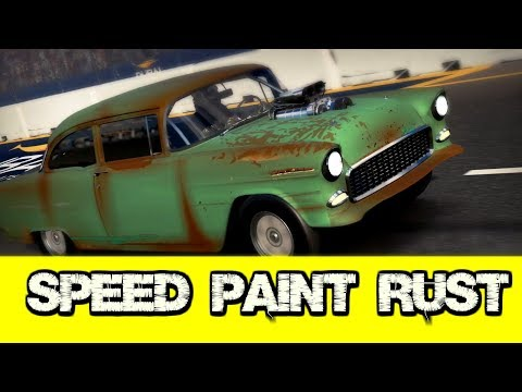 Speed Paint Rust  (Forza Motorsport 7)