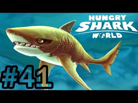 Hungry Shark World #41   Gameplay Tiger Shark