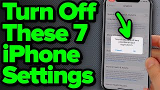 7 iPhone Settings You Need To Turn Off Now