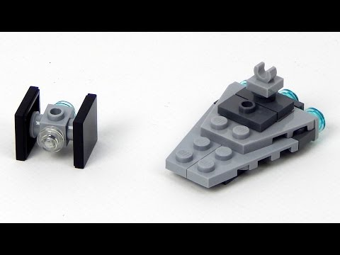 Lego Star Wars Magazine No. 4 Star Destroyer + TIE Fighter Lego Speed Build