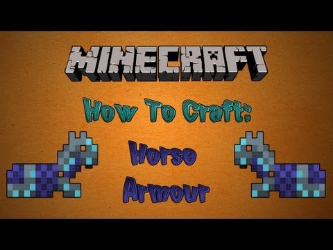 How To Craft Horse Armor in Minecraft 1.11