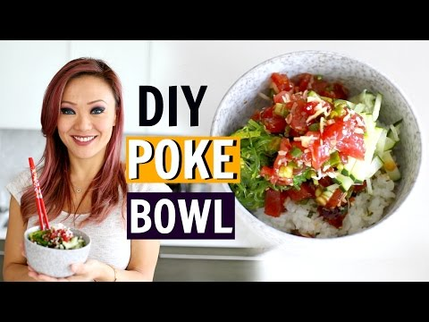 BEST DIY AHI POKE BOWL | Chef Kathy Fang