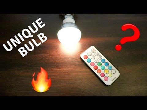 LED Colour Changing Bulb | Cheap & Best | Tech Unboxing 🔥