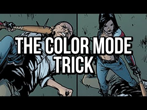Photoshop coloring tutorial: The Color Mode Trick!