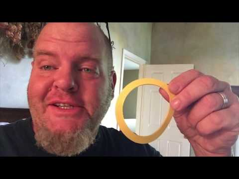 How to replace Kohler Toilet Flush Valve Seal in 2 minutes or less