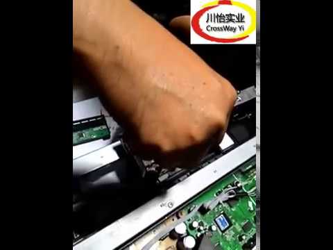 How to Replace and remove Epson R1390 Print head