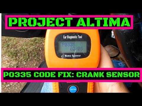 Project Altima SE-R [EP:11] P0335 Crank Position Sensor Replacement