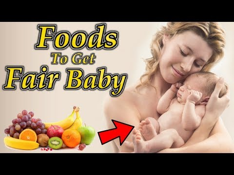 10 Pregnancy Foods To Get A Fair Baby | Foods To Eat During Pregnancy To Get A Fair Baby