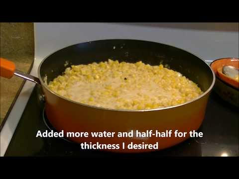 How to Make Southern Cream Corn Deux