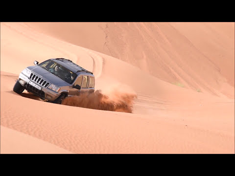 Desert drive - Sand rules over the tyres