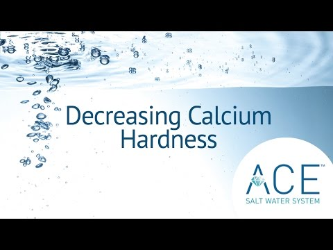 Decreasing Calcium Hardness With Your Hot Spring Spa ACE System