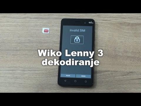 Wiko Lenny 3 dekodiranje pomoću servisnog alata