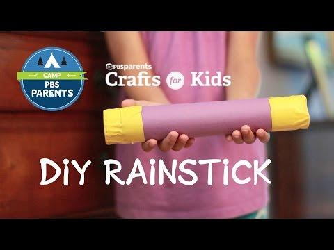DIY Rainstick | Crafts for Kids| PBS Parents