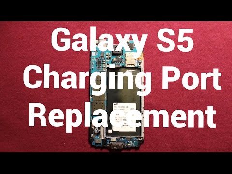 Galaxy S5 Charging Port Replacement How To Change