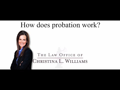 How does probation work?