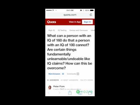 Quora Deep Links from Email