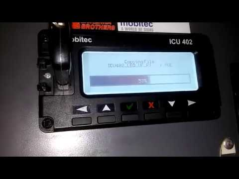 How to update Firmware on Mobitec ICU402!