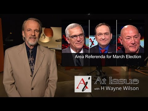 At Issue #3021 - Area Referenda for March Election