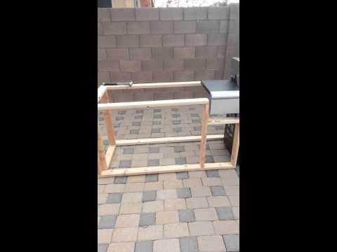 DIY BBQ grill part 3