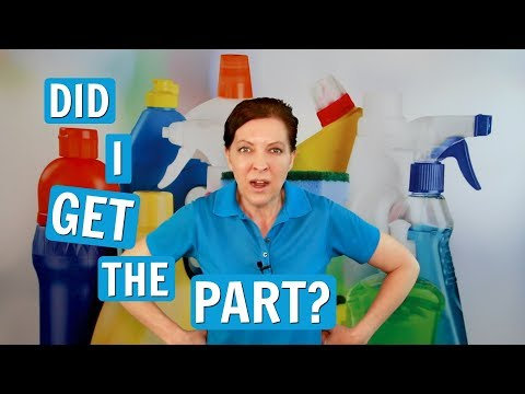 Auditions for House Cleaning - How to Get the Part